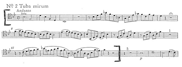 Mozart Tuba Mirum